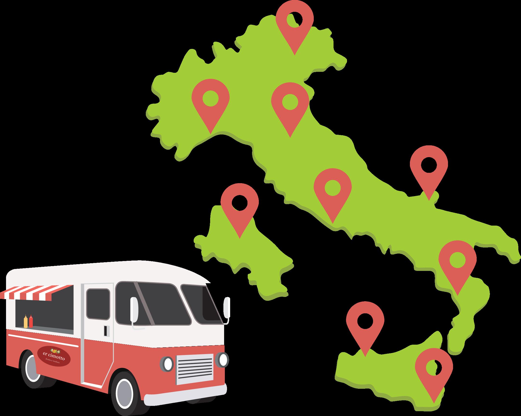 cimotto food truck Roma