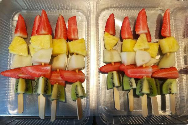 spiedini di frutta Food Lab