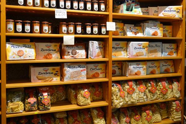 negozio prodotti biologici